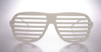 72bff20ff9 Would you rock a pair of these iconic Kanye West inspired shutter sunglasses