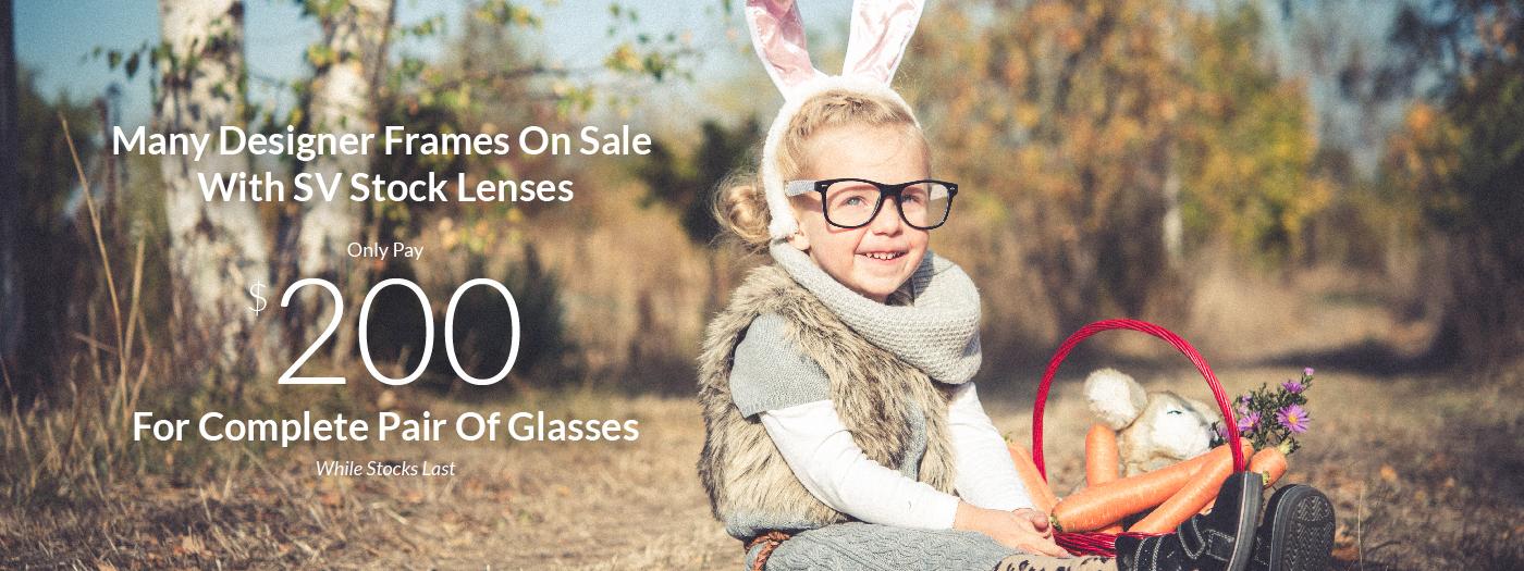 glasses on sale